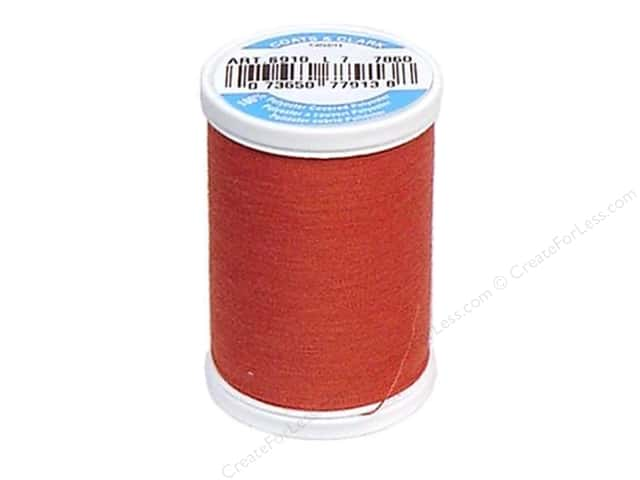 Coats & Clark Dual Duty XP All Purpose Thread 250 yd. #7860 Terracotta