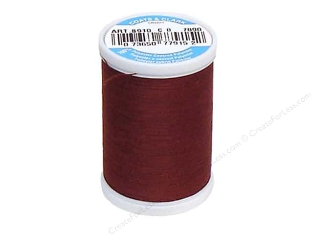 Coats & Clark Dual Duty XP All Purpose Thread 250 yd. #7890 Rum Raisin