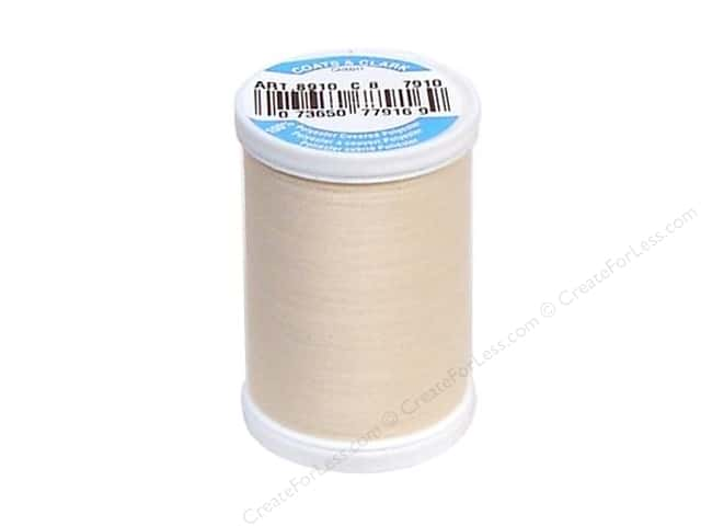 Coats & Clark Dual Duty XP All Purpose Thread 250 yd. #7910 Pale Peach