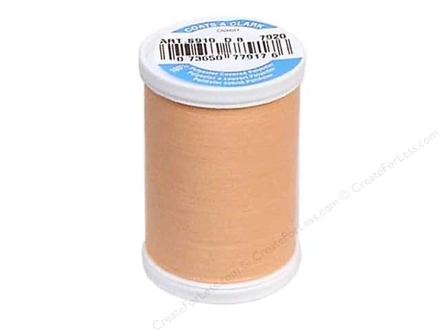Coats & Clark Dual Duty XP All Purpose Thread 250 yd. #7920 Peach Blush