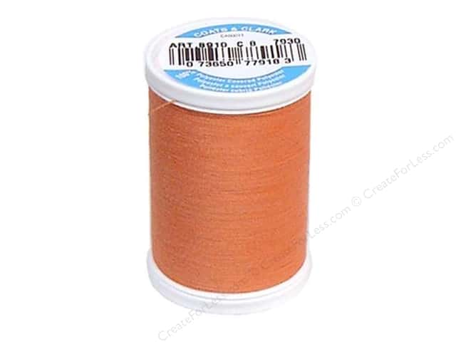 Coats & Clark Dual Duty XP All Purpose Thread 250 yd. #7920 Salmon