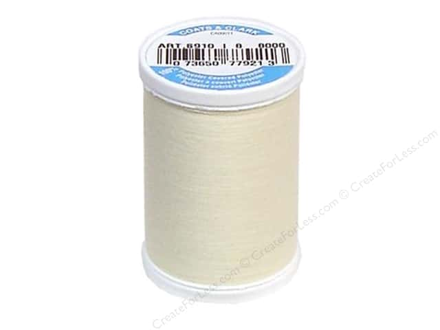 Coats & Clark Dual Duty XP All Purpose Thread 250 yd. #8000 Pearl