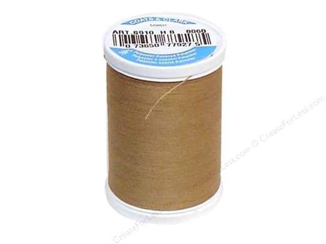 Coats & Clark Dual Duty XP All Purpose Thread 250 yd. #8060 Praline