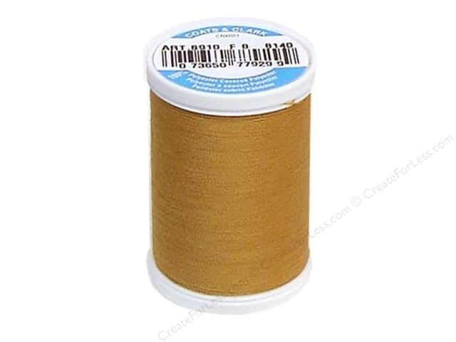 Coats & Clark Dual Duty XP All Purpose Thread 250 yd. #8140 Golden Tan
