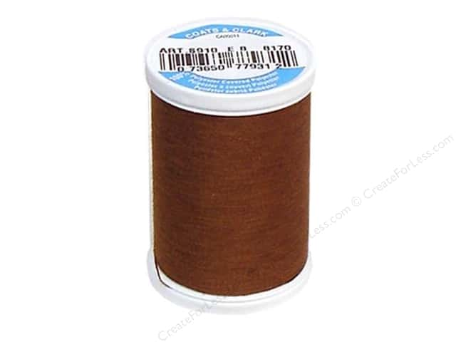 Coats & Clark Dual Duty XP All Purpose Thread 250 yd. #8170 Coffee
