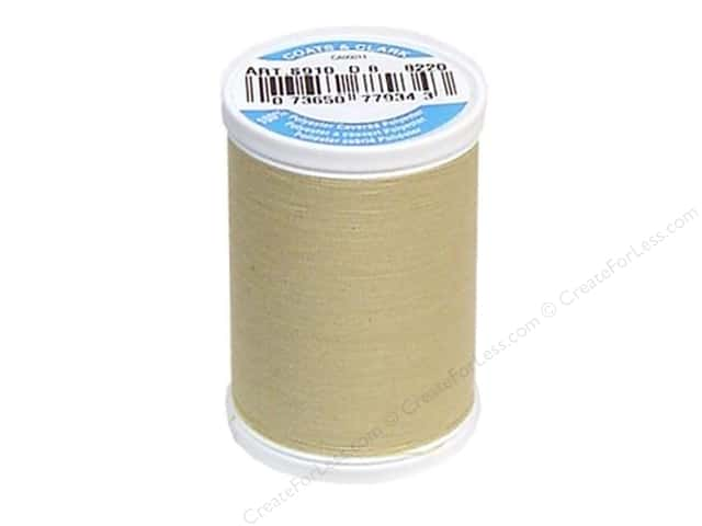Coats & Clark Dual Duty XP All Purpose Thread 250 yd. #8220 Light Camel
