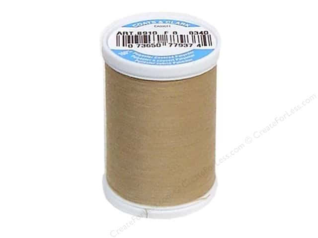 Coats & Clark Dual Duty XP All Purpose Thread 250 yd. #8340 Sahara