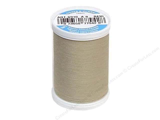 Coats & Clark Dual Duty XP All Purpose Thread 250 yd. #8430 Fawn