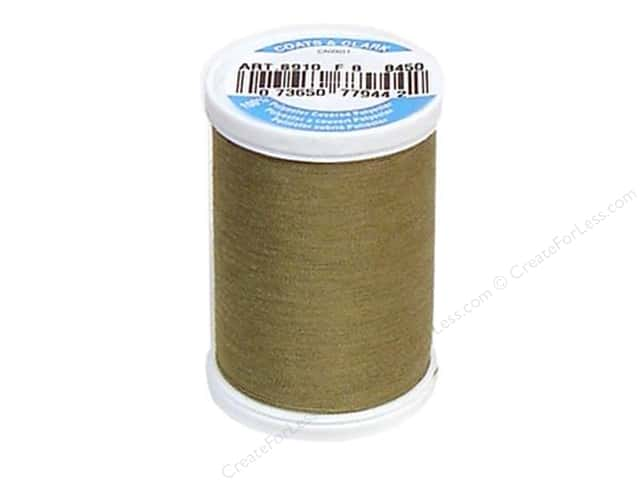 Coats & Clark Dual Duty XP All Purpose Thread 250 yd. #8450 Dark Khaki