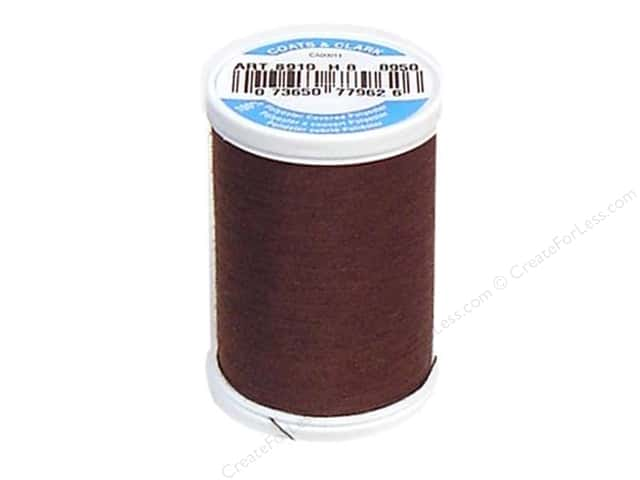 Coats & Clark Dual Duty XP All Purpose Thread 250 yd. #8950 Chocolate