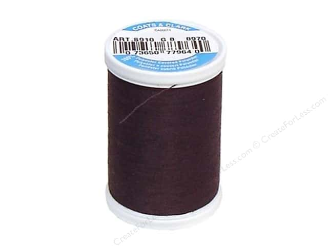 Coats & Clark Dual Duty XP All Purpose Thread 250 yd. #8970 French Roast