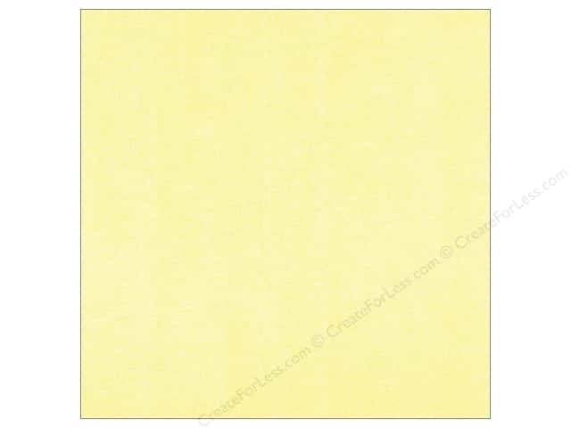 Doodlebug 12 x 12 in. Paper Sugar Coated Buttercream (25 sheets)