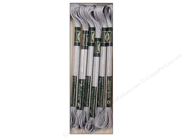 DMC Satin Embroidery Floss #S415 Pearl Grey