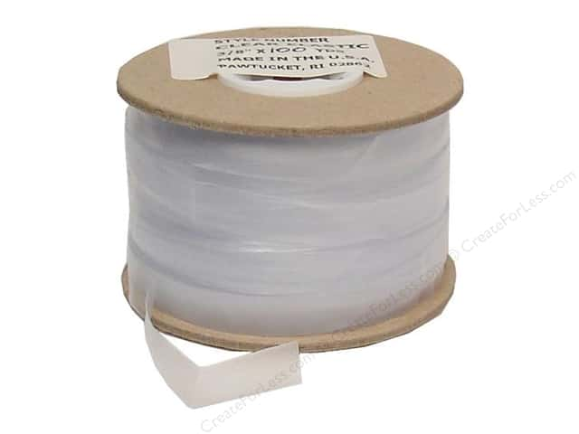Conrad Jarvis Clear Elastic Reel 3/8 in x 100 yd Clear (100 yards)
