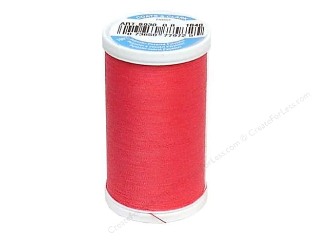 Coats & Clark Dual Duty XP All Purpose Thread  500 yd. #1840 Hot Pink