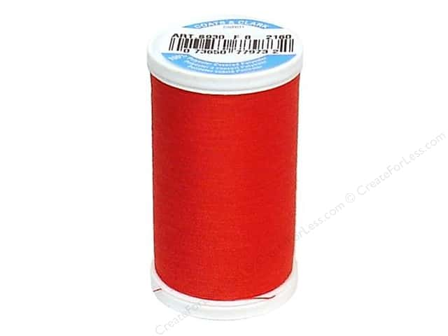 Coats & Clark Dual Duty XP All Purpose Thread  500 yd. #2160 Atom Red