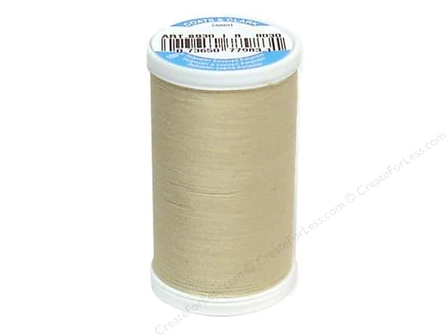 Coats & Clark Dual Duty XP All Purpose Thread  500 yd. #8030 Ecru