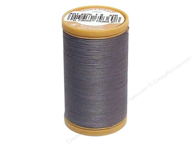 Coats Cotton Machine Quilting Thread #620 Slate 350 yd.