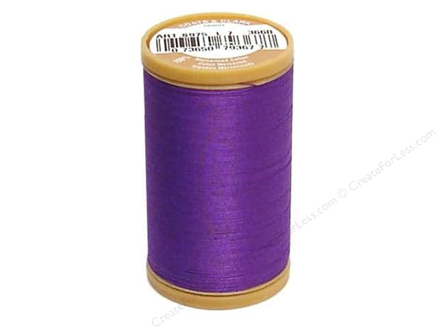 Coats Cotton Machine Quilting Thread #3660 Deep Violet 350 yd.