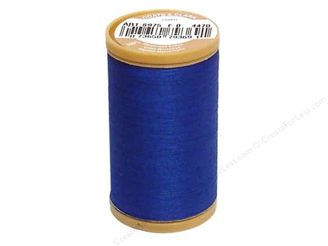 Coats Cotton Machine Quilting Thread #4470 Yale Blue 350 yd.