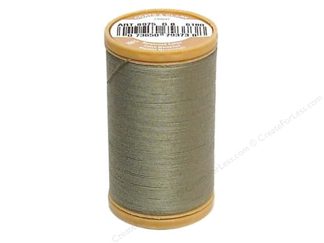 Coats Cotton Machine Quilting Thread #6180 Green Linen 350 yd.