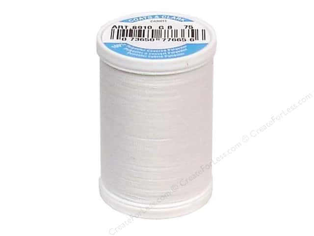 Coats & Clark Dual Duty XP All Purpose Thread 250 yd. #75 Arctic White