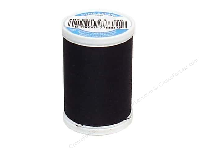 Coats & Clark Dual Duty XP All Purpose Thread 250 yd. #950 Celestial Black