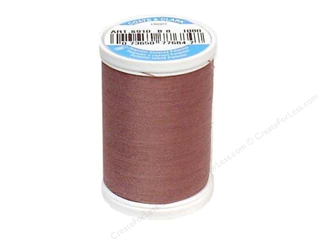 Coats & Clark Dual Duty XP All Purpose Thread 250 yd. #1080 Dark Mauve