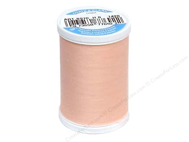 Coats & Clark Dual Duty XP All Purpose Thread 250 yd. #1420 Coral Pink