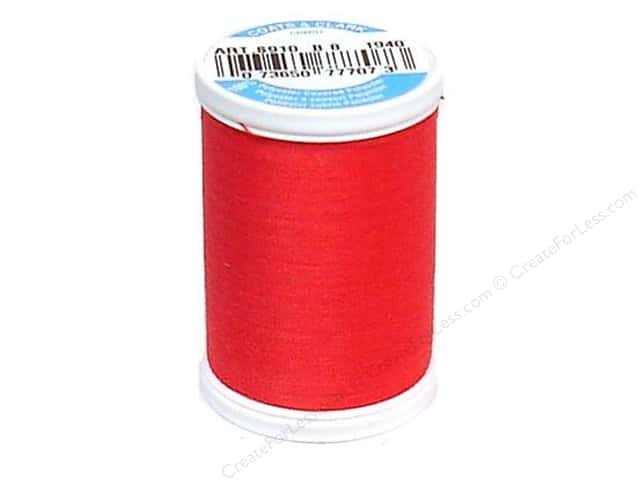 Coats & Clark Dual Duty XP All Purpose Thread 250 yd. #1940 Hot Petunia