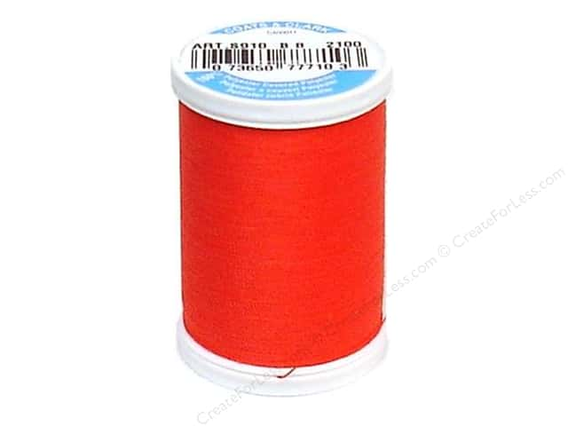 Coats & Clark Dual Duty XP All Purpose Thread 250 yd. #2100 Chili Pepper