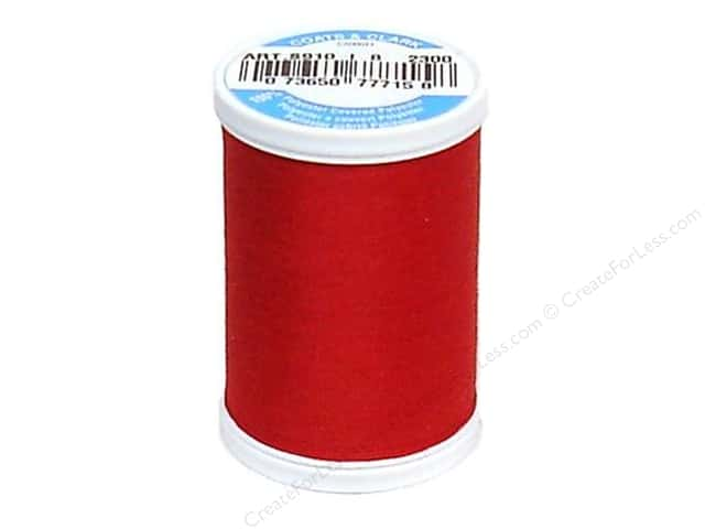 Coats & Clark Dual Duty XP All Purpose Thread 250 yd. #2300 Candy Apple