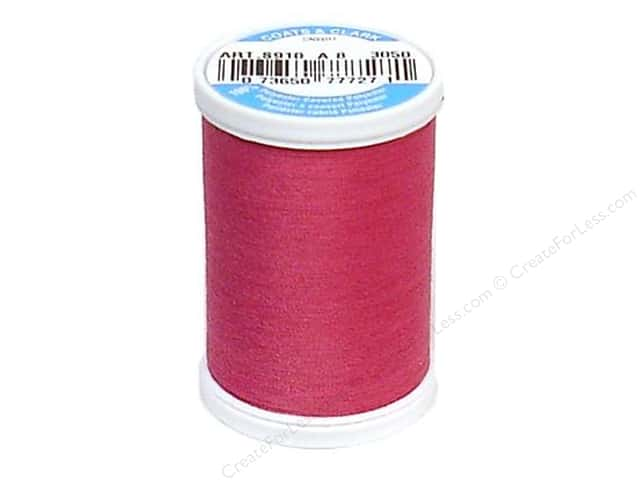 Coats & Clark Dual Duty XP All Purpose Thread 250 yd. #3050 Magenta