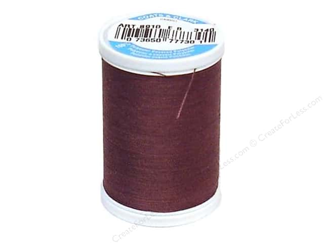 Coats & Clark Dual Duty XP All Purpose Thread 250 yd. #3140 Mocha Plum