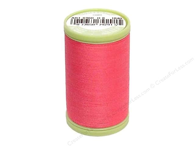 Dual Duty Plus Hand Quilting Thread 325 yd. #1840 Hot Pink