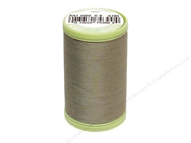Dual Duty Plus Hand Quilting Thread 325 yd. #6180 Green Linen