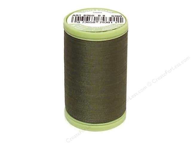 Dual Duty Plus Hand Quilting Thread 325 yd. #6360 Bronze Green