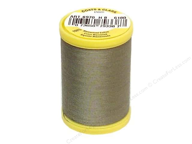 Coats All Purpose Cotton Thread 225 yd. #6180 Green Linen