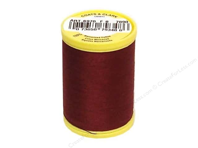 Coats All Purpose Cotton Thread 225 yd. #7890 Rum Raisin
