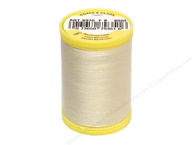 Coats All Purpose Cotton Thread 225 yd. #8020 Cream