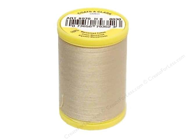 Coats All Purpose Cotton Thread 225 yd. #8030 Ecru