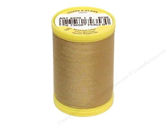 Coats All Purpose Cotton Thread 225 yd. #8230 Camel