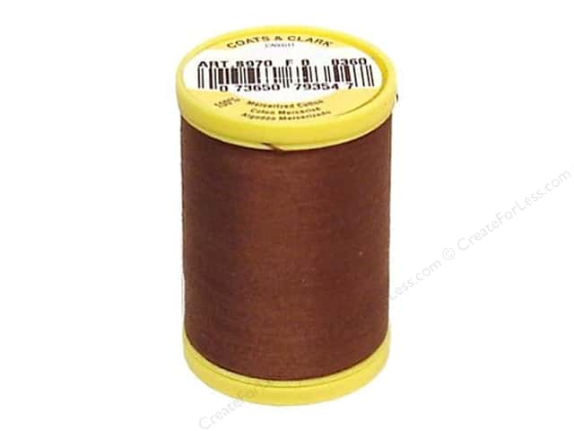 Coats All Purpose Cotton Thread 225 yd. #8360 Summer Brown