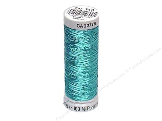 Gutermann Decor Metallic Thread 219 yd. Light Blue