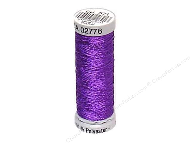 Gutermann Decor Metallic Thread 219 yd. Purple