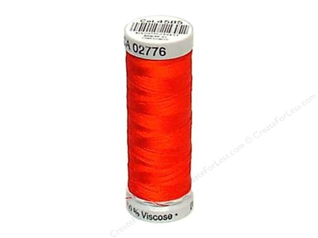 Gutermann Dekor Rayon Embroidery Thread 220 yd. #4585 Poppy Red