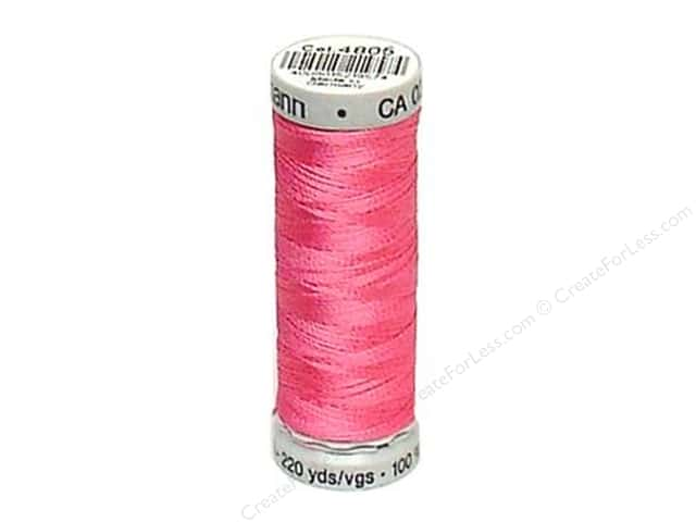 Gutermann Dekor Rayon Embroidery Thread 220 yd. #4805 Medium Pink