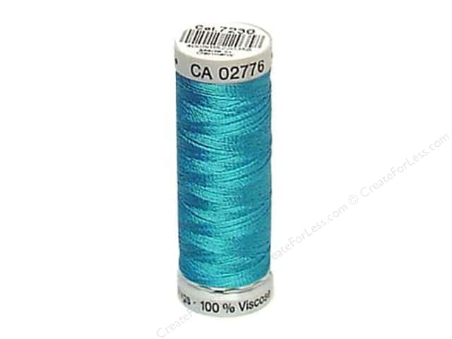 Gutermann Dekor Rayon Embroidery Thread 220 yd. #7230 Blue Hawaii