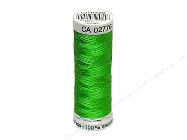 Gutermann Dekor Rayon Embroidery Thread 220 yd. #8320 Shamrock