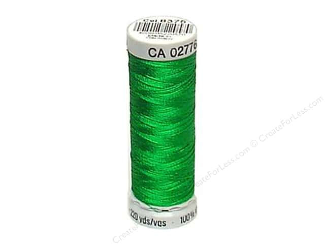 Gutermann Dekor Rayon Embroidery Thread 220 yd. #8375 Emerald Isle
